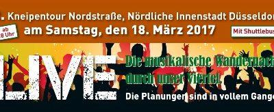 Wir spielen bei der Kneipentour Düsseldorf 2017!