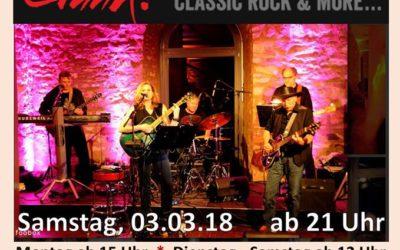 Gig im Alt-Langenberg am 3. März